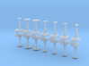 MicroFleet Androgenan Fast Attack Group (14pcs) 3d printed