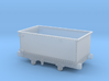 5.5mm Corris 'Queen Mary' Wagon 3d printed