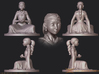 The Childlike Empress Statuette 7cm 3d printed detail
