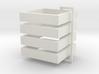 Parkhecke quadratisch (Buchsbaum) 4er Set 1:120 3d printed