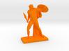 Polygonal Achilles statue 3d printed