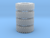 Hummer Tire X4 for Meng hummer 3d printed