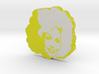 Dolly Parton in Yellow 3d printed