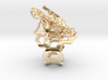 Western Honey Bee Ring 3d printed