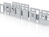 Door Range N Scale 3d printed
