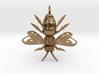 Bee Pendant 3d printed
