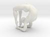 Male yoga pose 008 3d printed