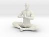 Male yoga pose 011 3d printed