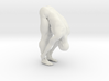 Male yoga pose 016 3d printed