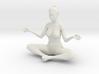 Female yoga pose 012 3d printed