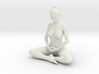 Female yoga pose 013 3d printed