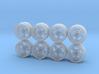 Work RSZR Hot Wheels Rims 3d printed