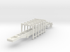 1/50th Pitts 6 bunk Straight deck log trailer 3d printed