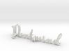 3dWordFlip: Dontmind/Losetime 3d printed
