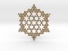 Merkaba Koch Fractal Snowflake 3d printed
