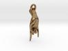 Karana Mudra V2 Pendant/ Charm 2.5cm 3d printed
