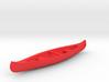 Canoe - car-mirror-pendant or keychain 3d printed