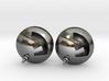 F Bomb earrings 3d printed