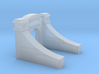 Moffat Tunnel West Portal No Tunnel N 3d printed