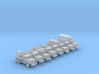 1/285 Scale M929 Series Truck Set Of 8 3d printed