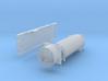 Containertragwagen mit Müllcontainer (N 1:160) 3d printed