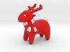 Deer Red heart 3d printed