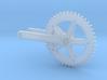 1/18 Miche bicycle crankset 3d printed