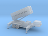 1/87 Scale Patriot Missile Launcher Trailer 3d printed