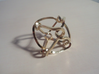 Octahedral knot (Square) 3d printed