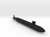 688 Los angeles class submarine for ornament 3d printed