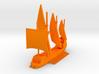 1/1000 Spitfire Dromon 3d printed