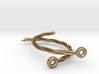 Ancient celtic neck ring - Torques or Torc (var 2) 3d printed