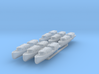 US Navy 40ft motor boat with closed canopy 1/350 3d printed