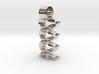 Virtual waves [pendant] 3d printed