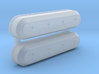 Chevrolet Racing LS Valve Covers 3d printed