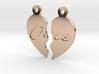2 Piece Heart Pendant 3d printed