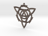 "Celtic Pendant ""Aisling""  (ASH-ling) 3d printed"