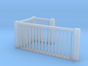 HO Scale upper railings 3d printed