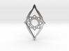 Star pendant 2 3d printed