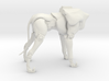 A6_Dog-Body (keyed body) (1 of 2 parts) 3d printed