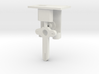 HO Steel Post Single Mech - FUD Base & Details 3d printed