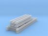 1/64 3 high 8ft Pallet Rack 3d printed