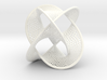 Borromean Rings Seifert Surface (6cm) 3d printed