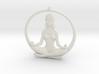Sukhasana Yogini Pendant 6.5cm 3d printed