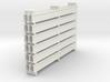H steel beams 01. HO Scale (1:87) 3d printed