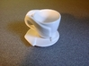 "Espresso Cup: ""Open Handle"" 3d printed Espresso Cup with Saucer (separately available)"