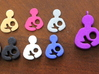 Breastfeeding Plate/Charm (Origami Owl) 3d printed Breastfeeding Charms/Pendants in a Variety of Materials: Plates- Raw Bronze, Pink Strong & Flexible, Alumide;Charms- Polished Gold Steel (in Locket), Black Strong & Flexible, White Strong & Flexible, Royal Blue Strong & Flexible Polished; Pendants- Violet