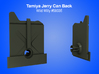 Tamiya RC Jerry Can (back) Insert for Wild Willy 3d printed