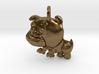 Baby Bulldog Pendant 3d printed