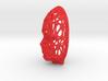 Female Voronoi Face (002) 3d printed